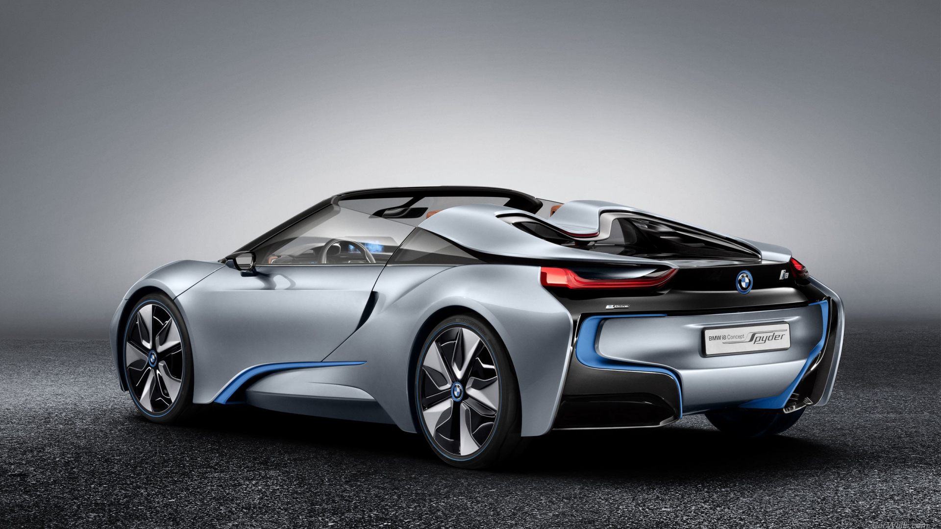 Free Download Ecran Hd Car Voiture Bmw I8 Concept Wallpaper