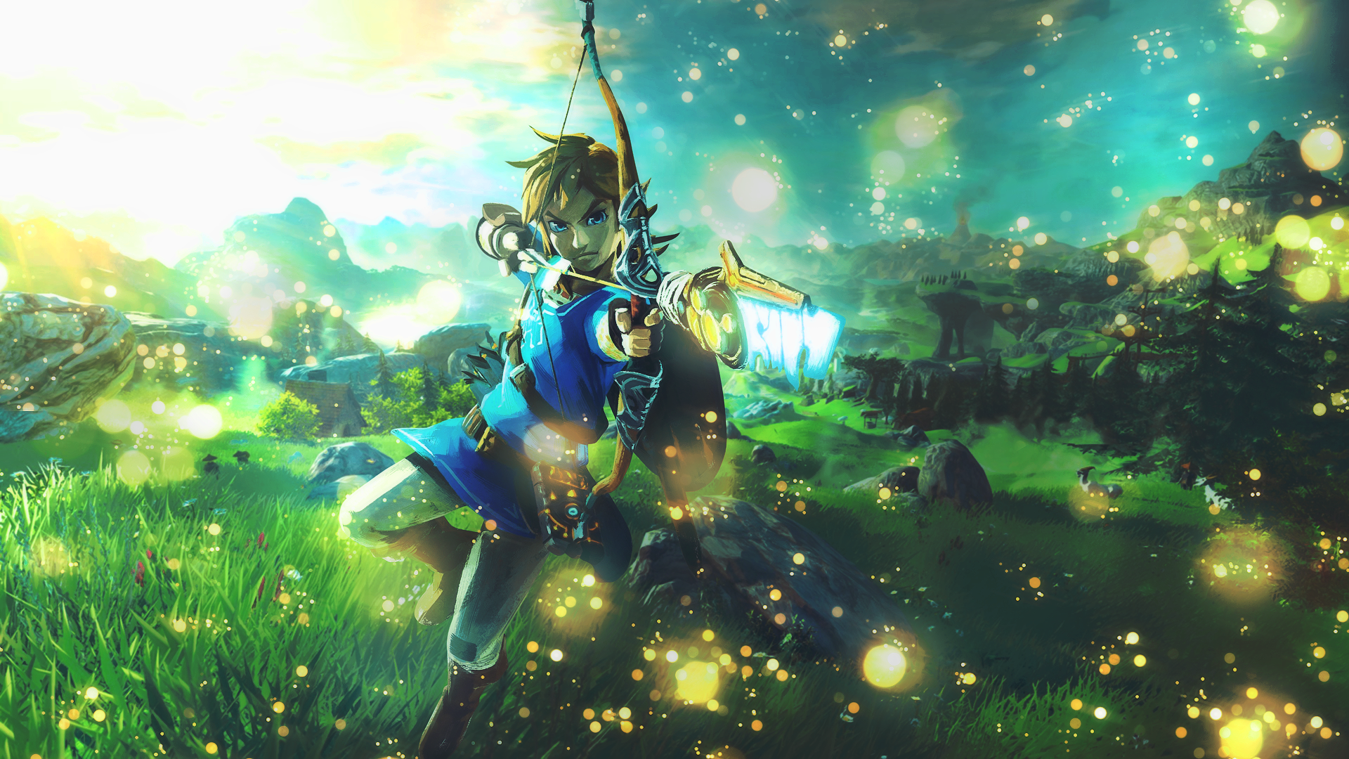 Free Download Zelda Breath Of The Wild Wallpaper By Yatamirror