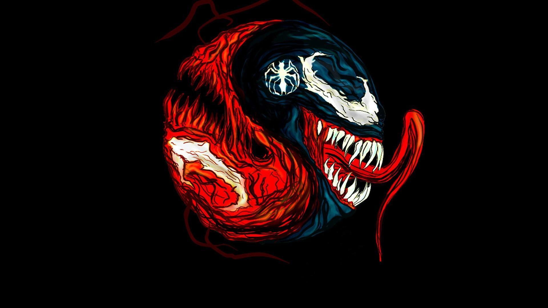 Free Download Marvel Comics Venom Black Background Fan Art Wallpaper 73018 1920x1080 For Your Desktop Mobile Tablet Explore 49 Venom Wallpaper Hd Venom Snake Wallpaper Carnage Wallpaper Hd Venom And Carnage Wallpaper