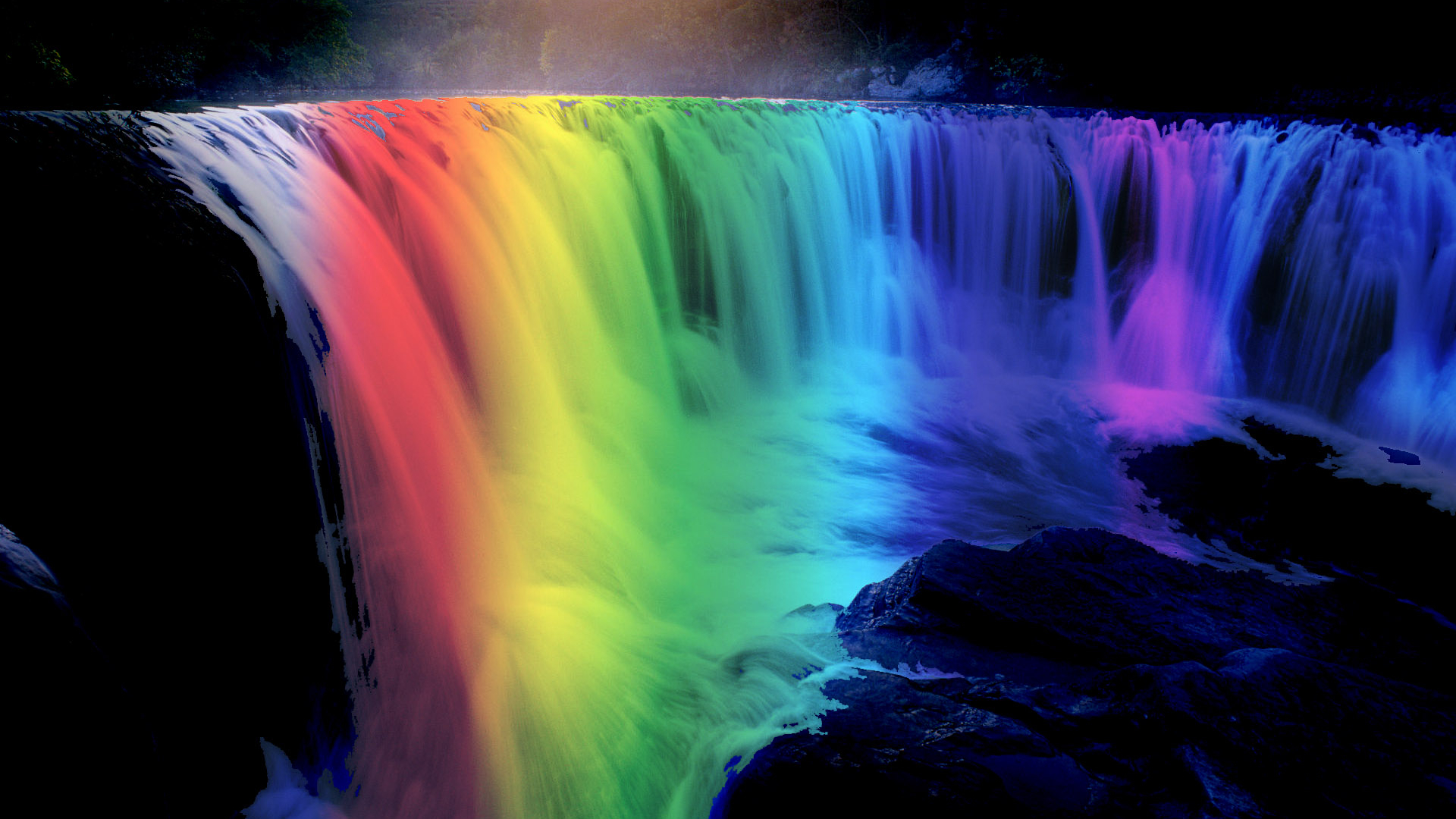 Free Download Rainbow Waterfall Iphone Wallpaper Only At Wallpaper 4 Me For 1920x1200 For Your Desktop Mobile Tablet Explore 45 Desktop Wallpapers Waterfalls With Rainbow Waterfall Wallpaper Moving Waterfall