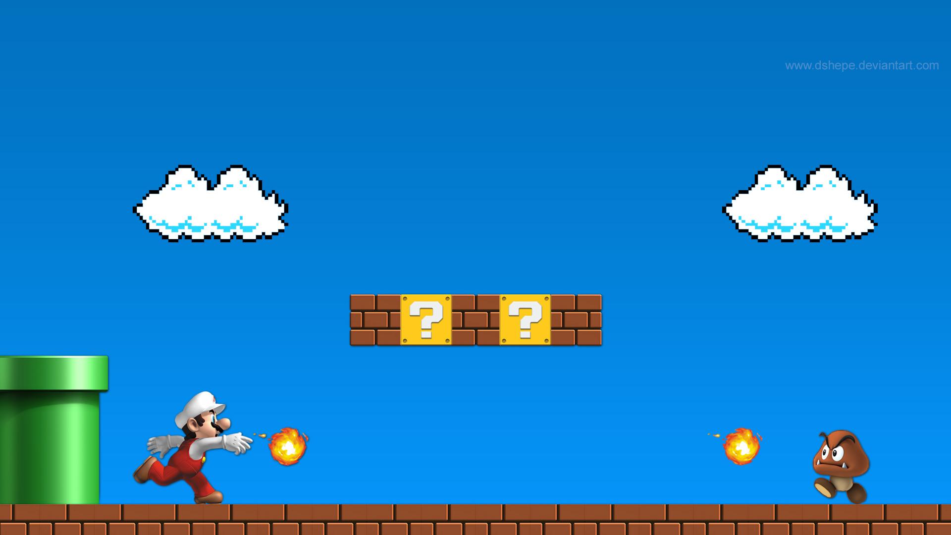 Super Mario Bros Wallpaper Hd wallpaper