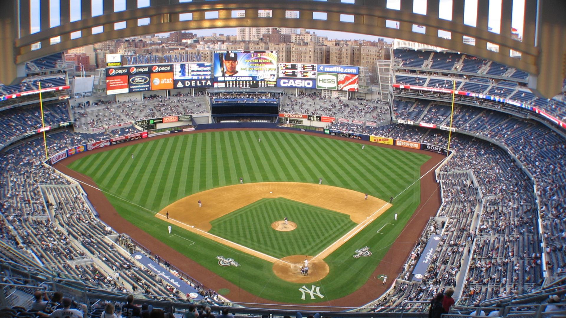New York Yankees Stadium Wallpaper Home Of The
