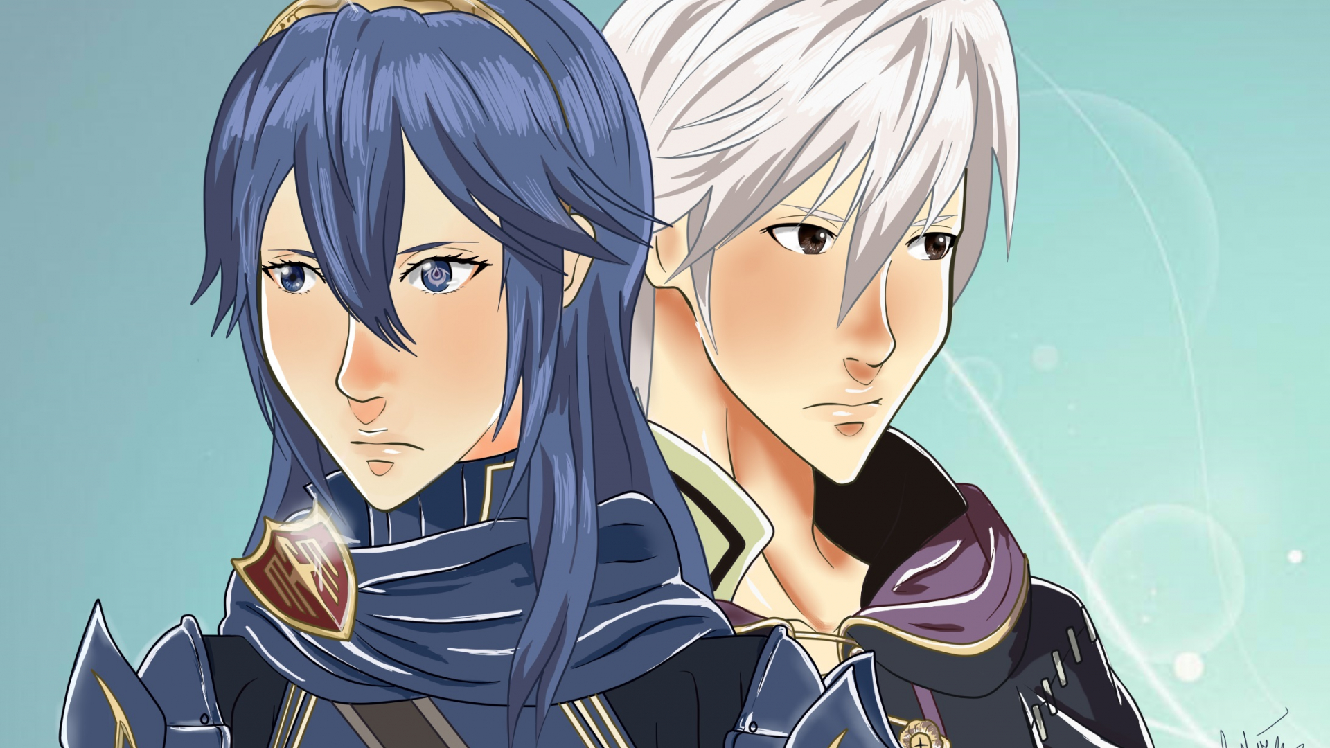 Free Download Robin And Lucina Fire Emblem Awakening By