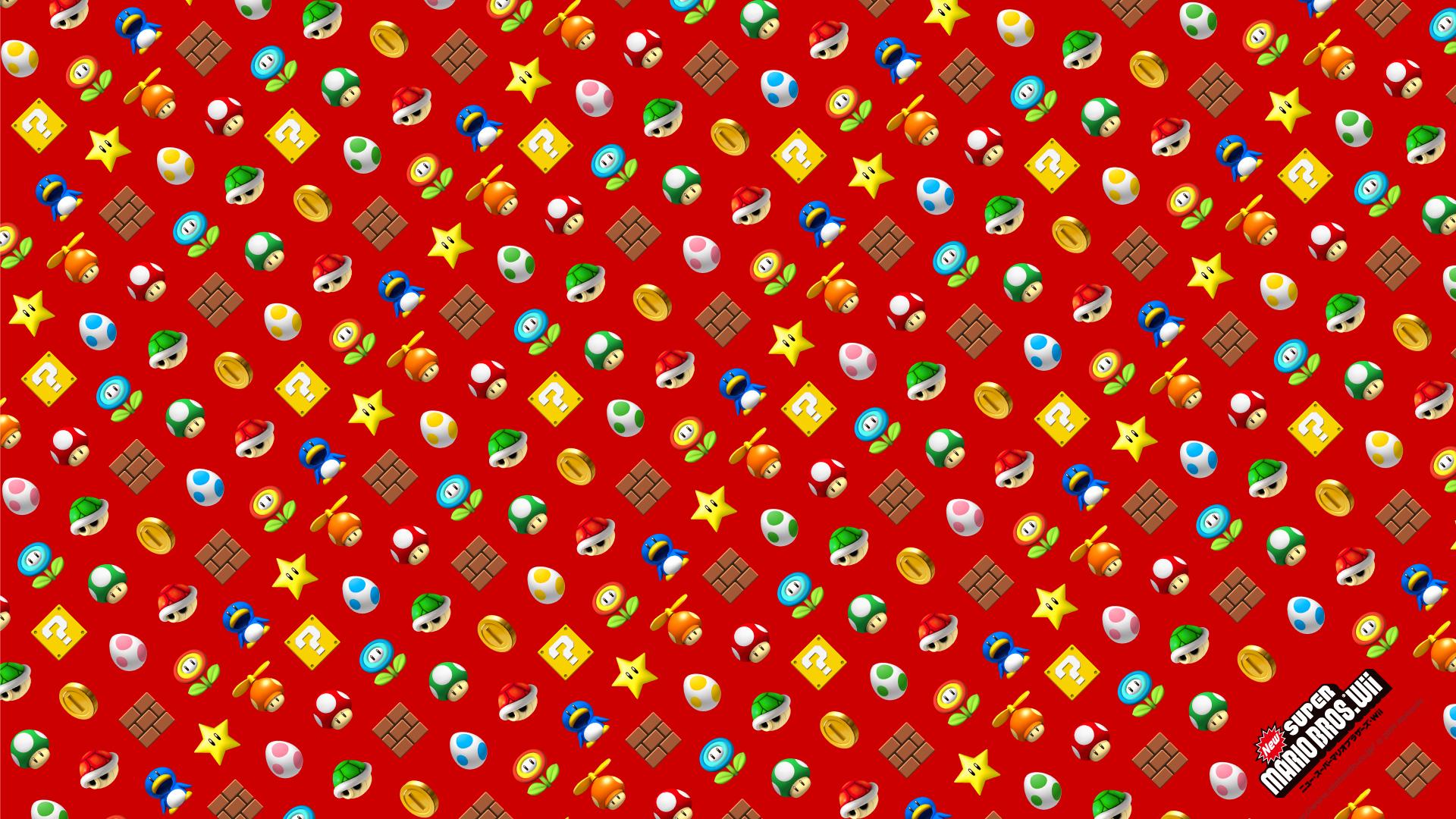 Free Download Mario Images New Super Mario Bros Wii Items