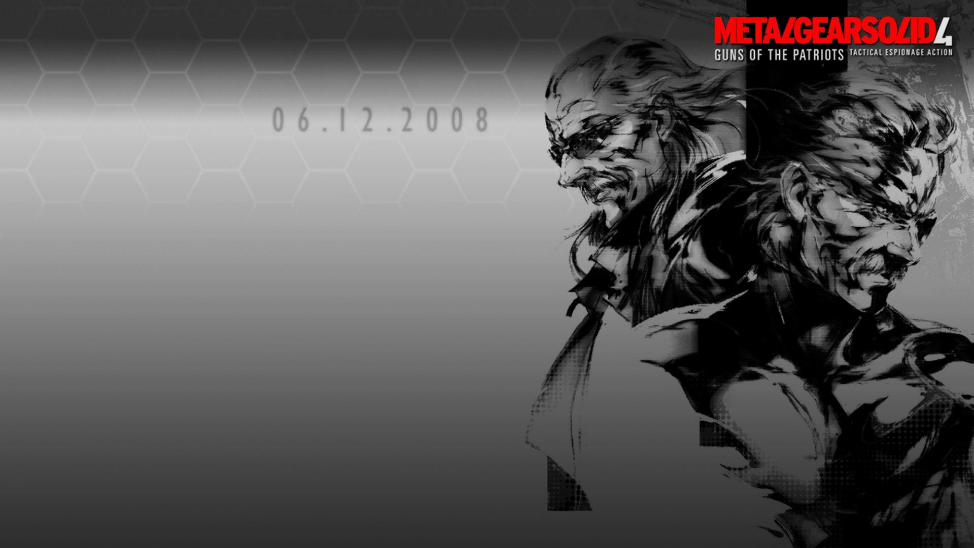 Free Download Metal Gear Wallpaper 1920x1080 Metal Gear Solid