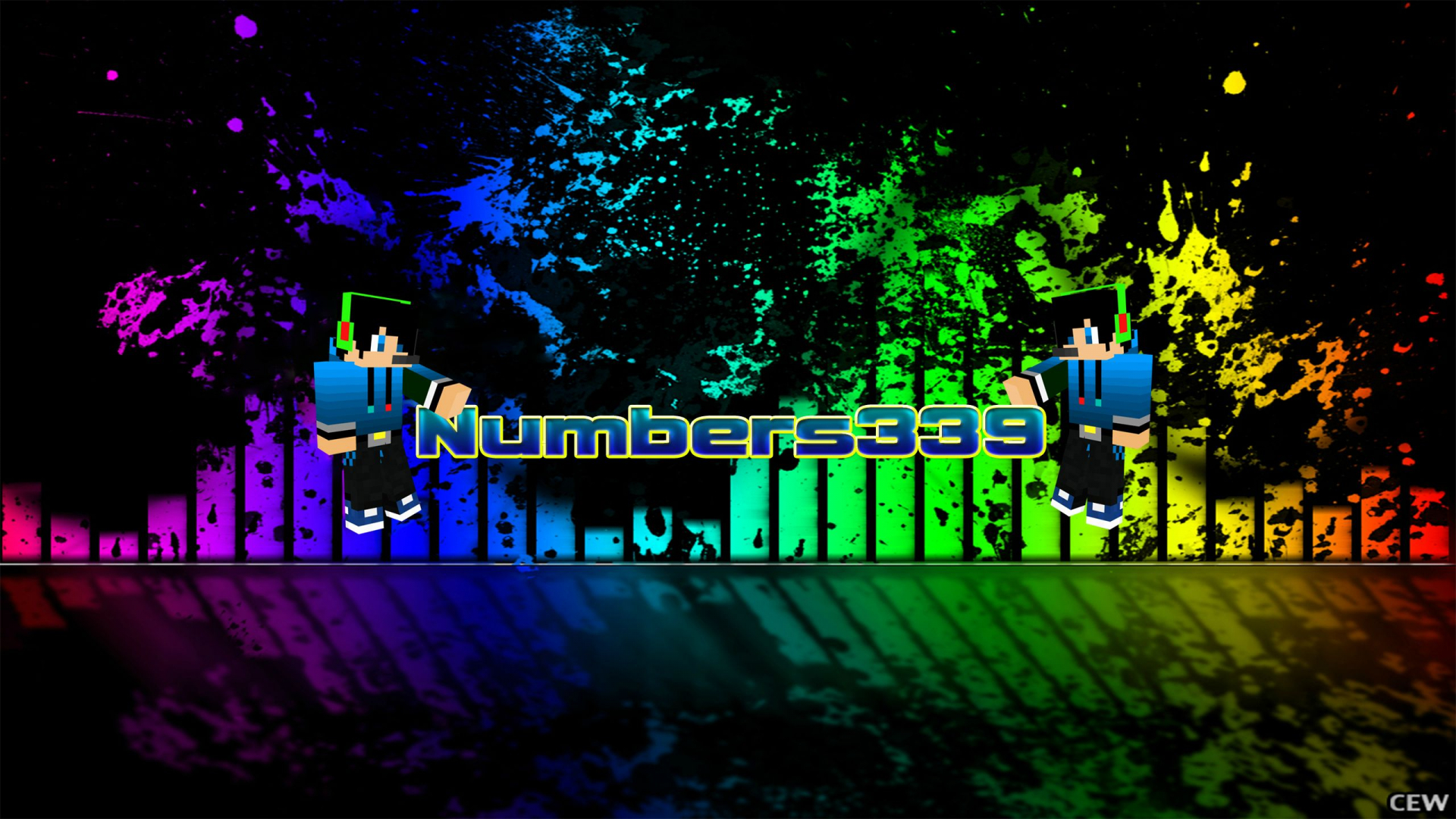 Free Download 2560 X 1440 Youtube Channel Art Minecraft 2560