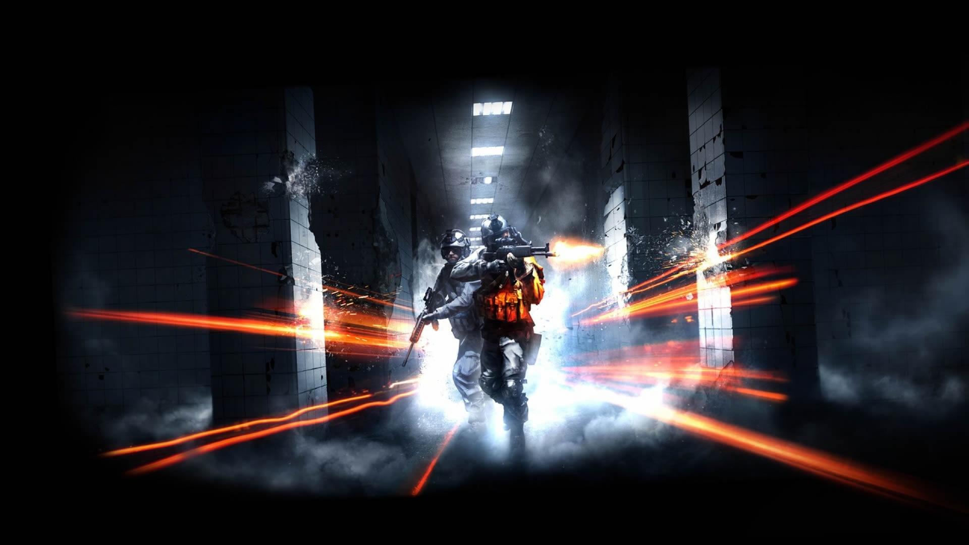 Free Download 2560x1440 Video Games Battlefield Guns Dice Shooter