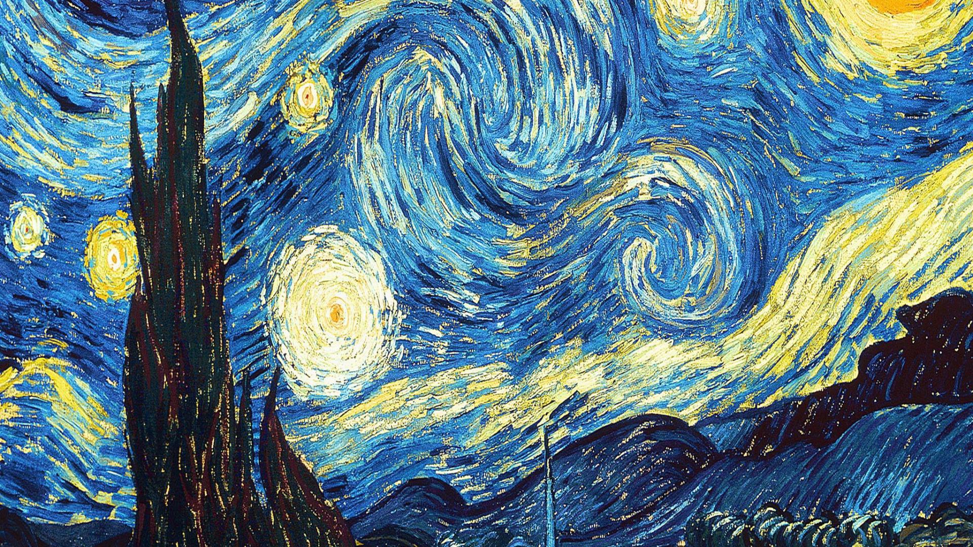 Free Download Vincent Van Gogh Starry Night Ipad 3 Wallpaper New