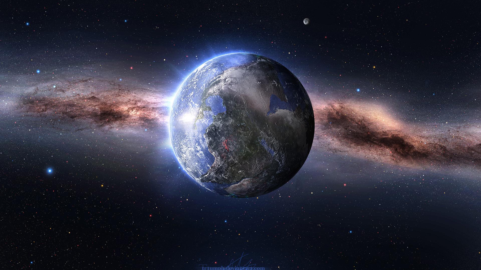 Free Download Earth In Space Hd Wallpaper Wallpaper List