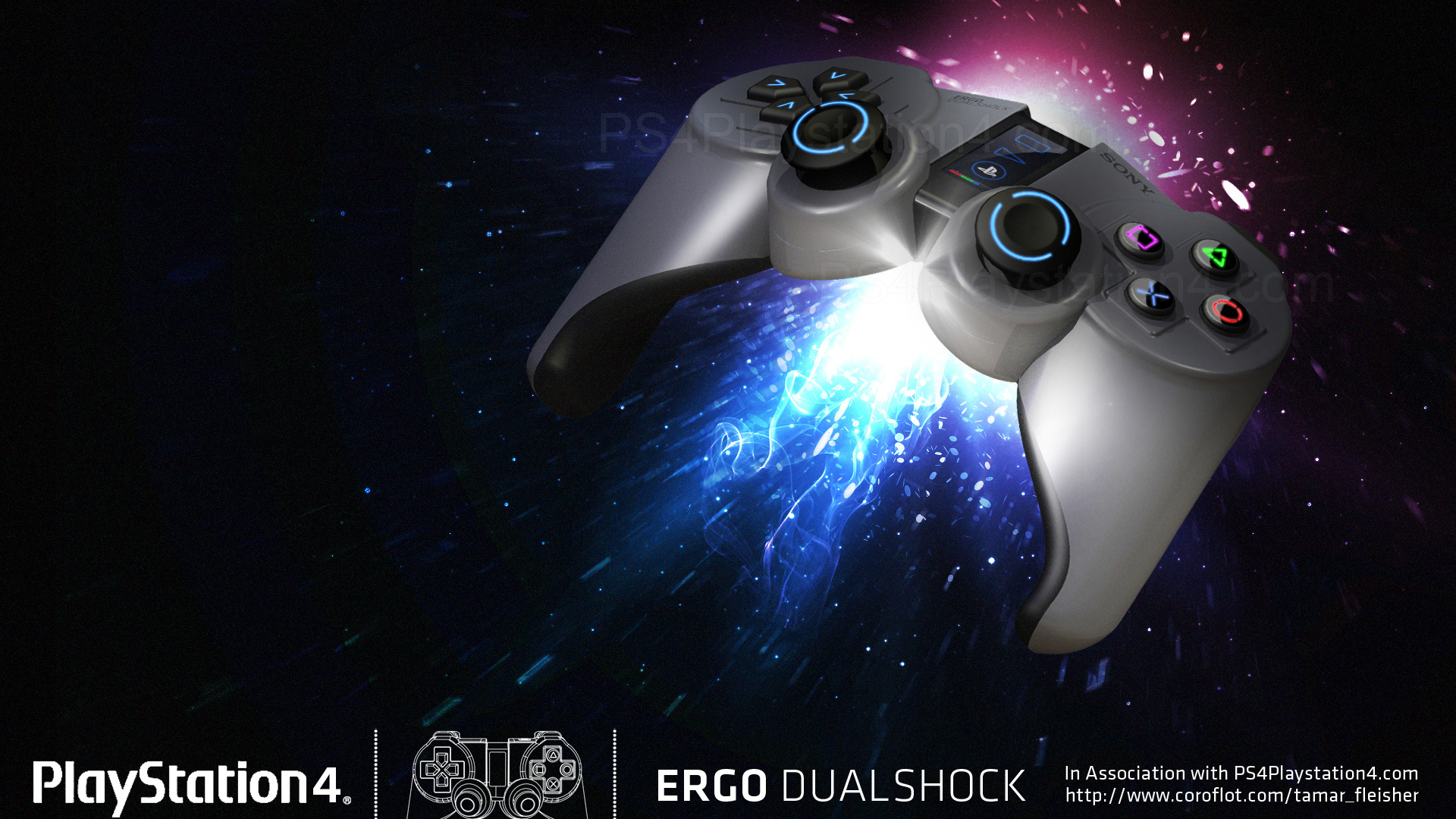 Free Download Ps4 Controller Background Download Make It