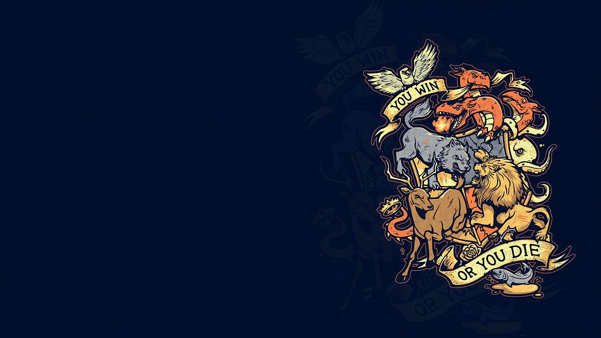 Free Download Game Of Thrones Fantasy Crest G Wallpaper 1920x1080
