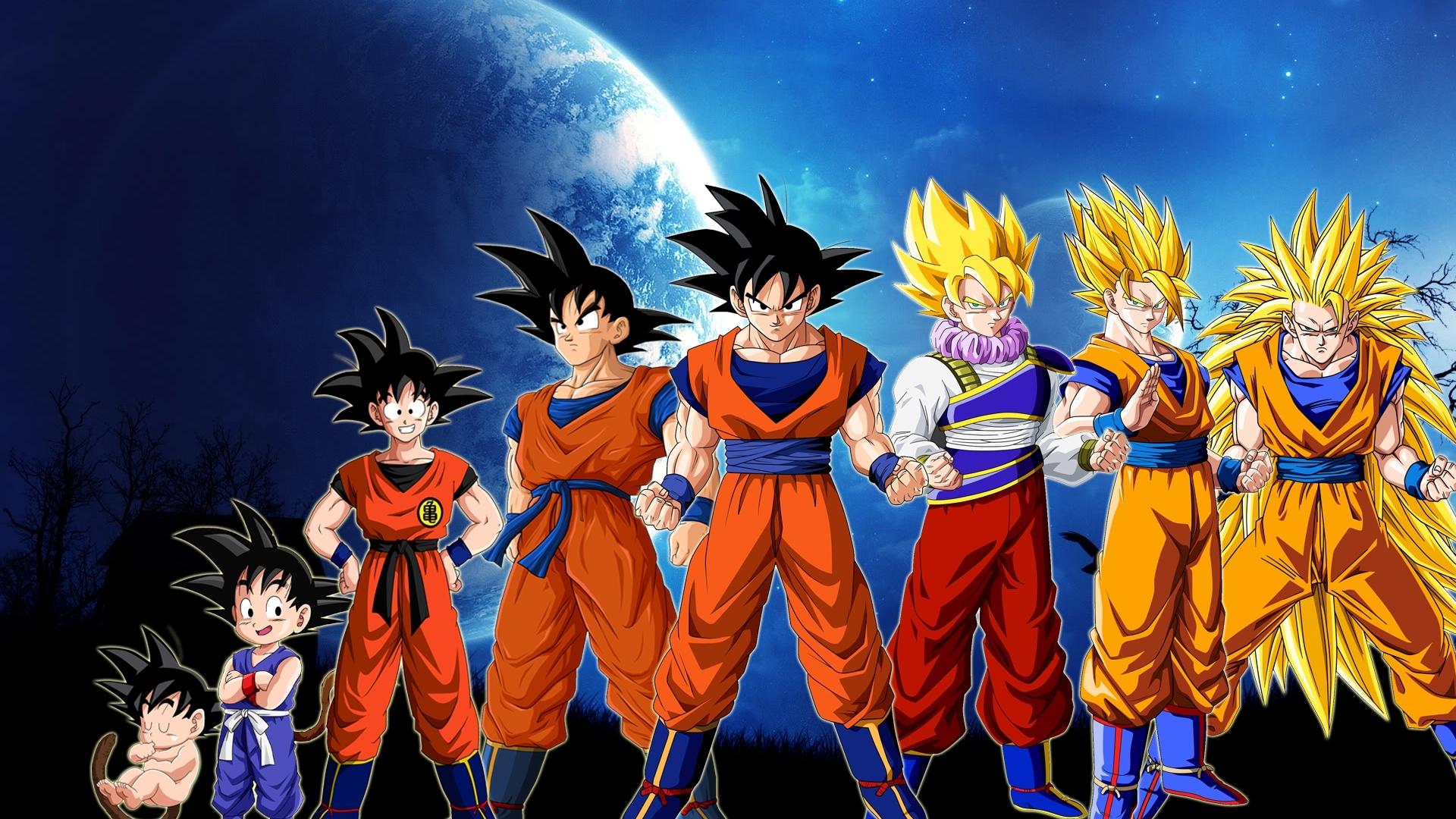 Free Download Download Goku And Super Saiyan Dragonball Z