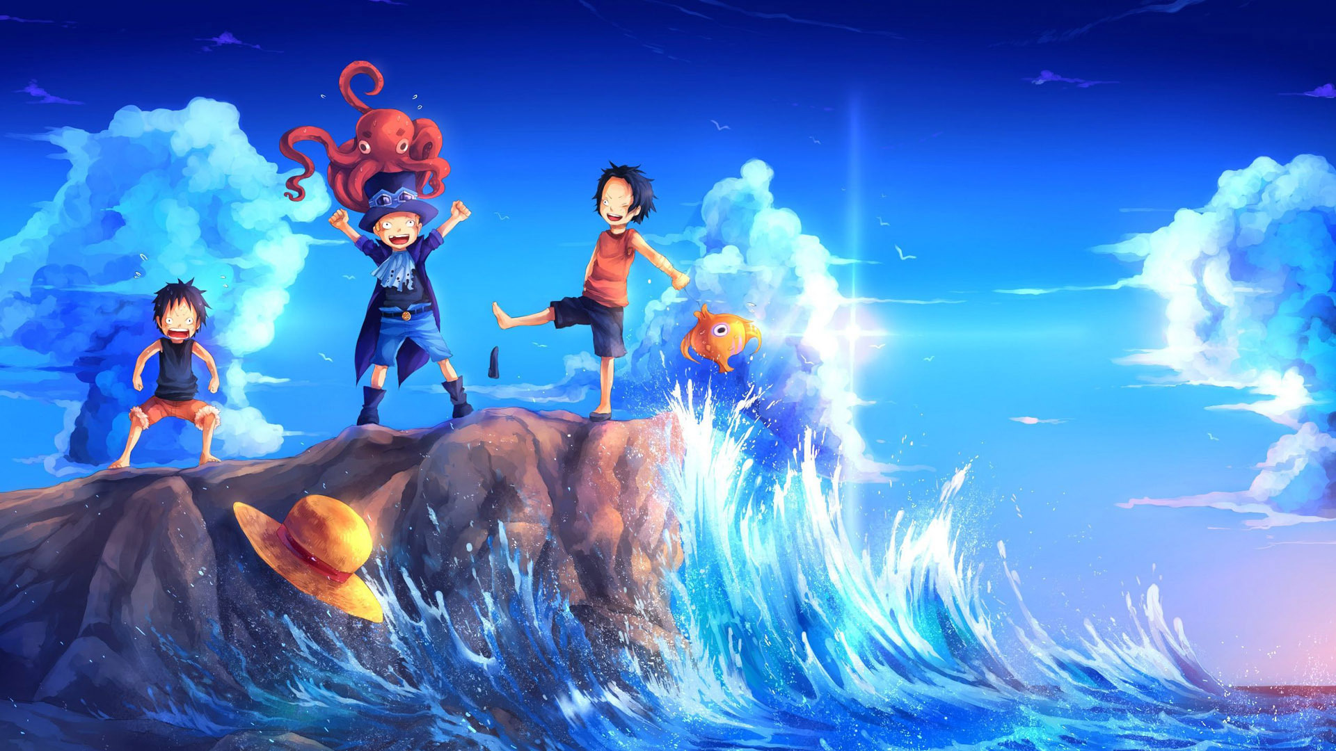 Free download 1920 X 1080 Anime Wallpaper One Piece 1920x1080 for your Desktop, Mobile ...