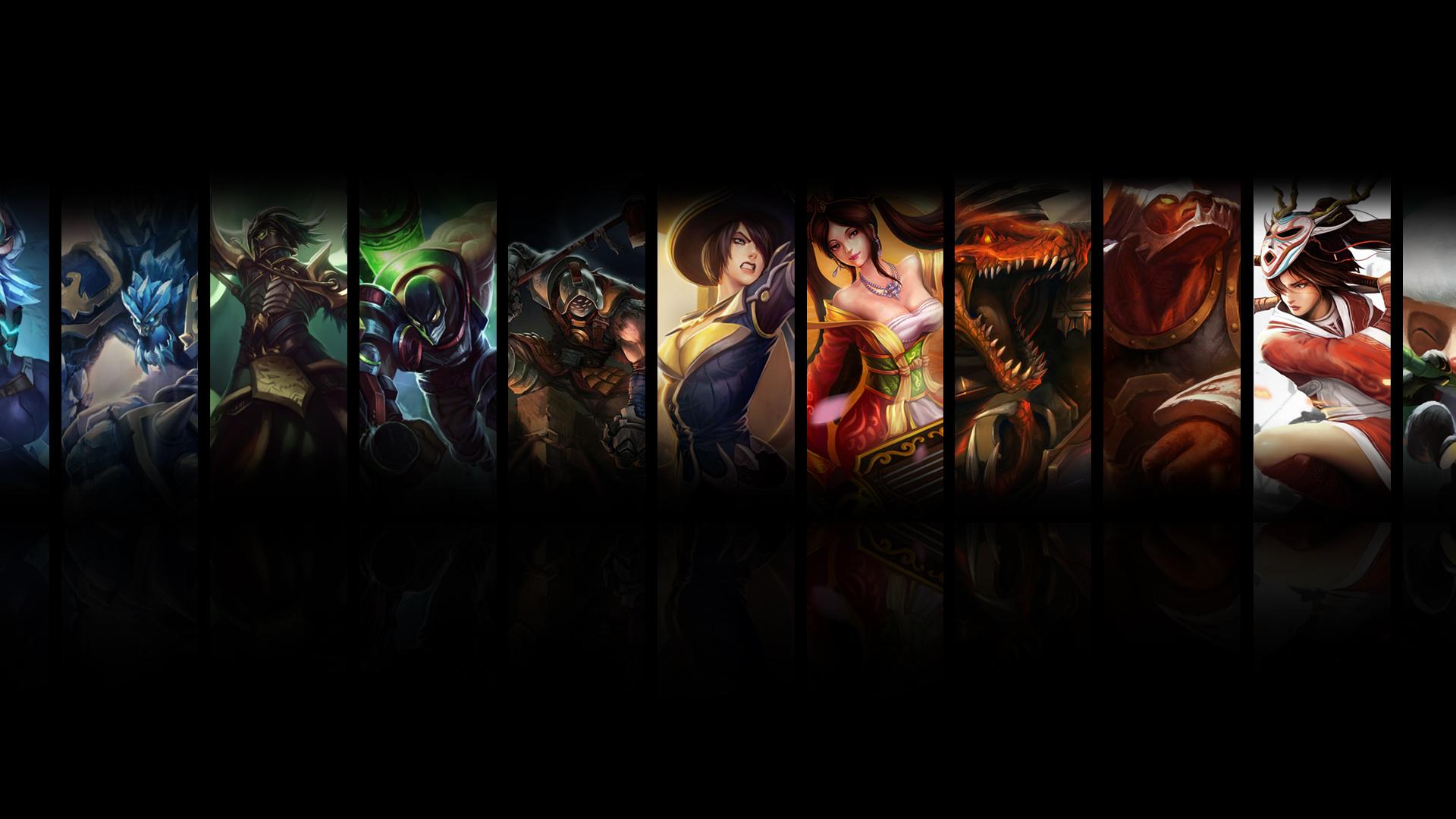 Free Download League Of Legends Dual Screen Wallpaper By Jrkdo Fan