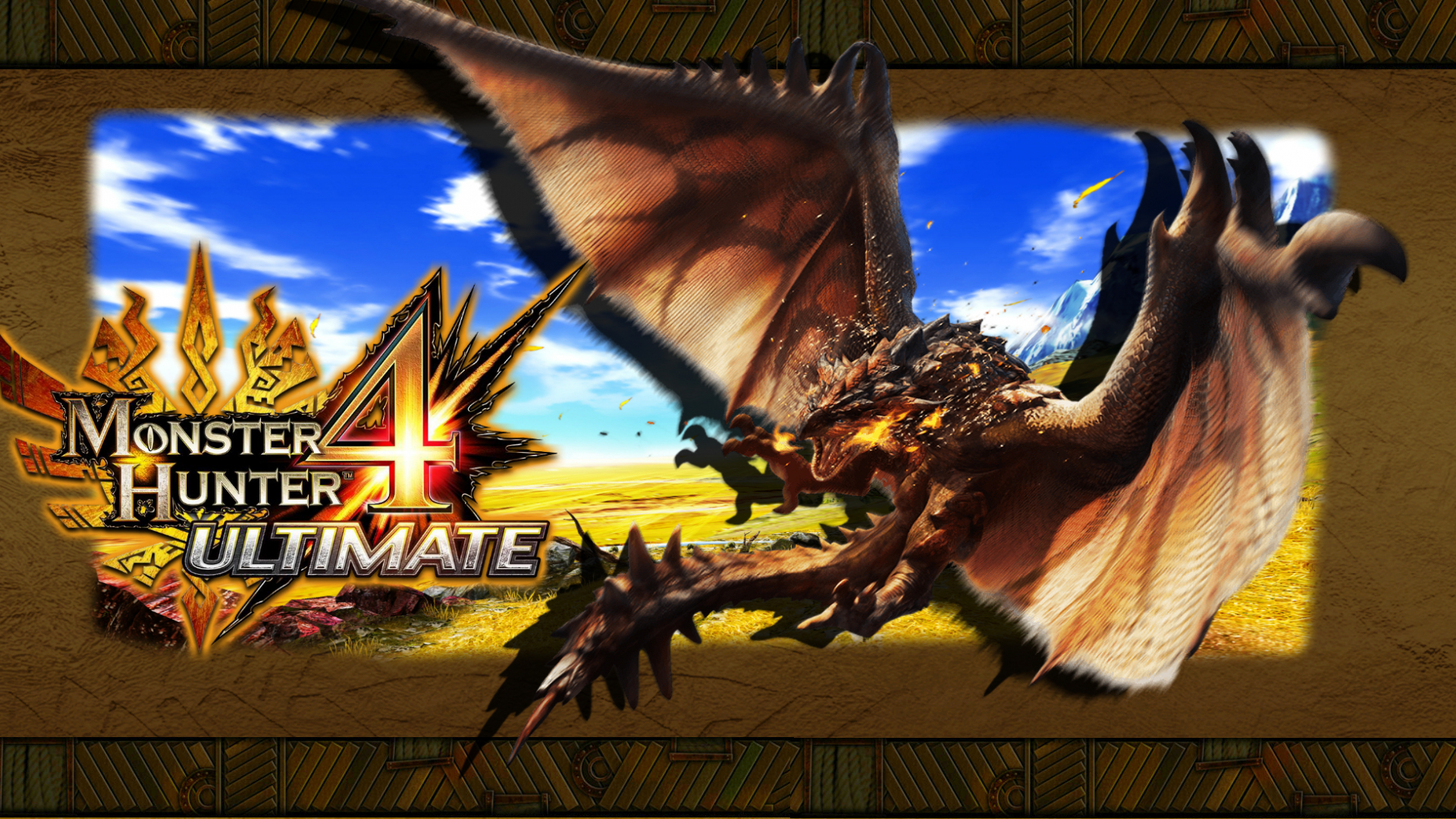 Free Download Monster Hunter 4 Ultimate Rathalos Wallpaper By