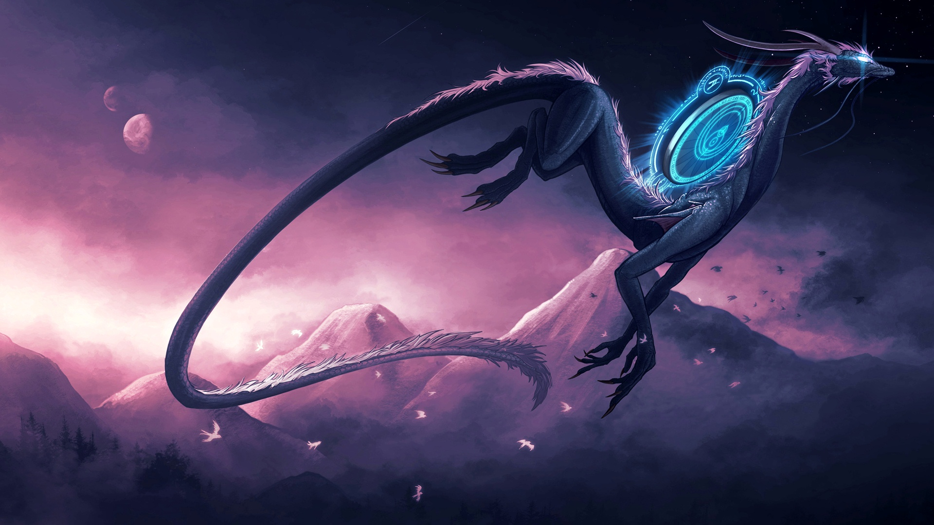 20 free and stunning dragon wallpaper collection - HD 1920×1080