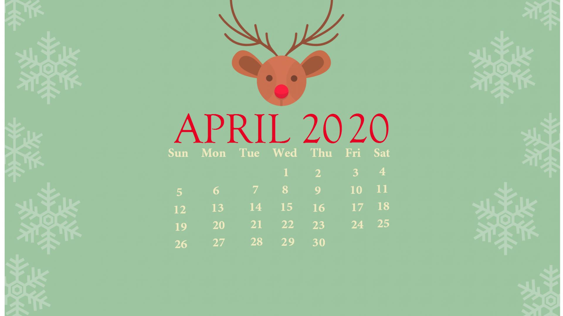 Free Download Cute 2020 Desktop Calendar Wallpaper Latest Calendar