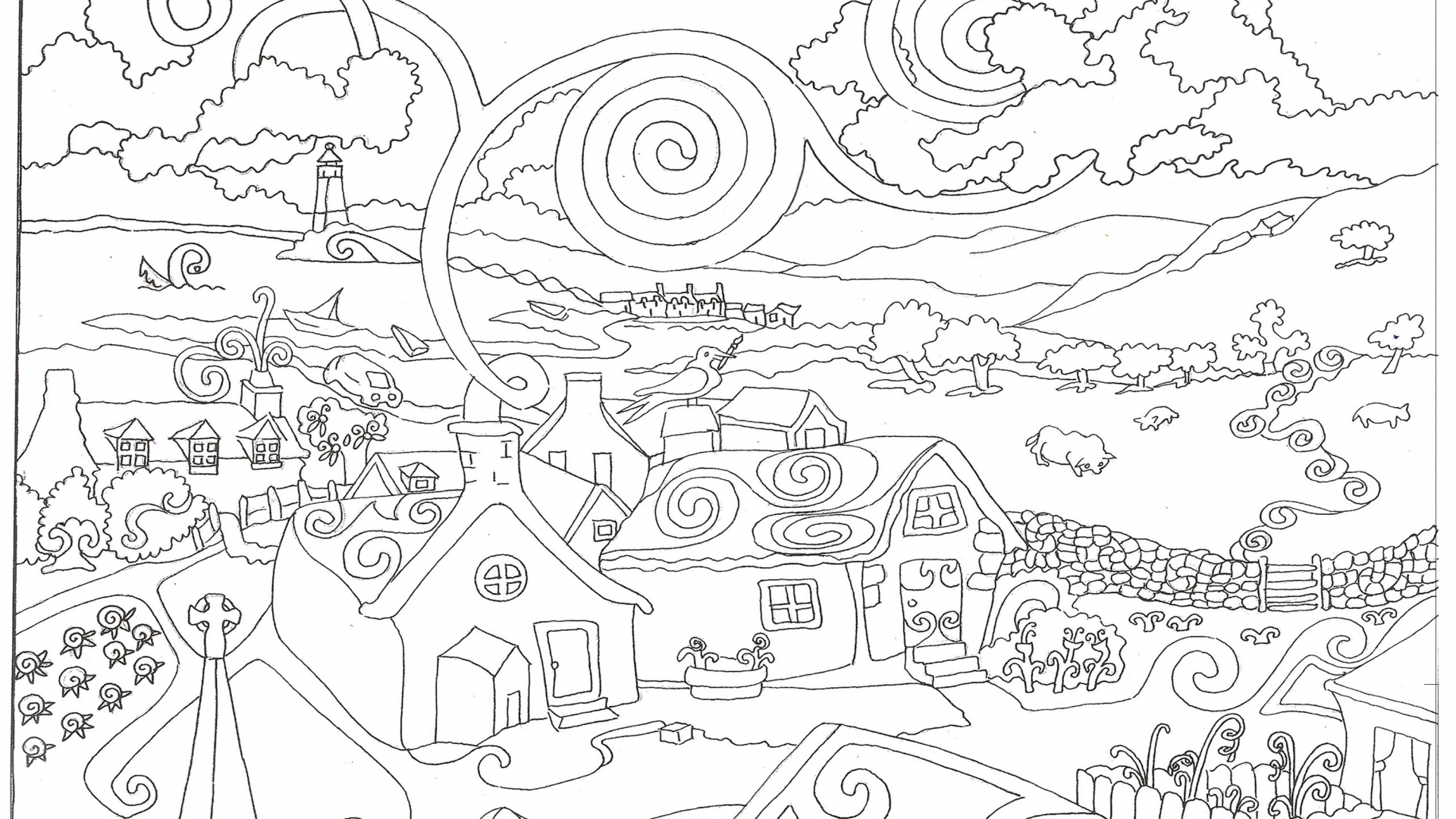 Free download coloring pages for adults coloring pages for adults ...