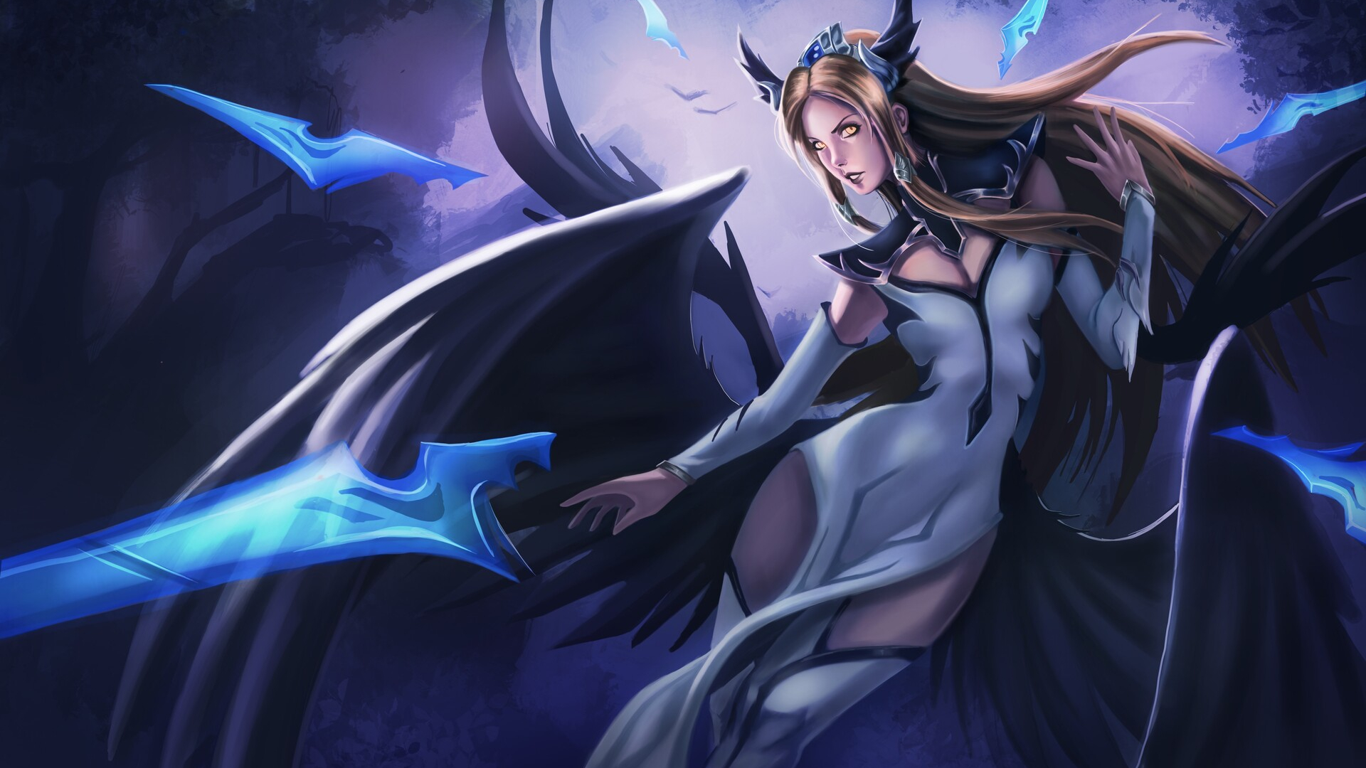 Free Download Irelia Invictus Skin Lol Fanart By Damien Ajoku 4646 Wallpapers 1920x1088 For Your Desktop Mobile Tablet Explore 44 Irelia Wallpaper Irelia Wallpaper