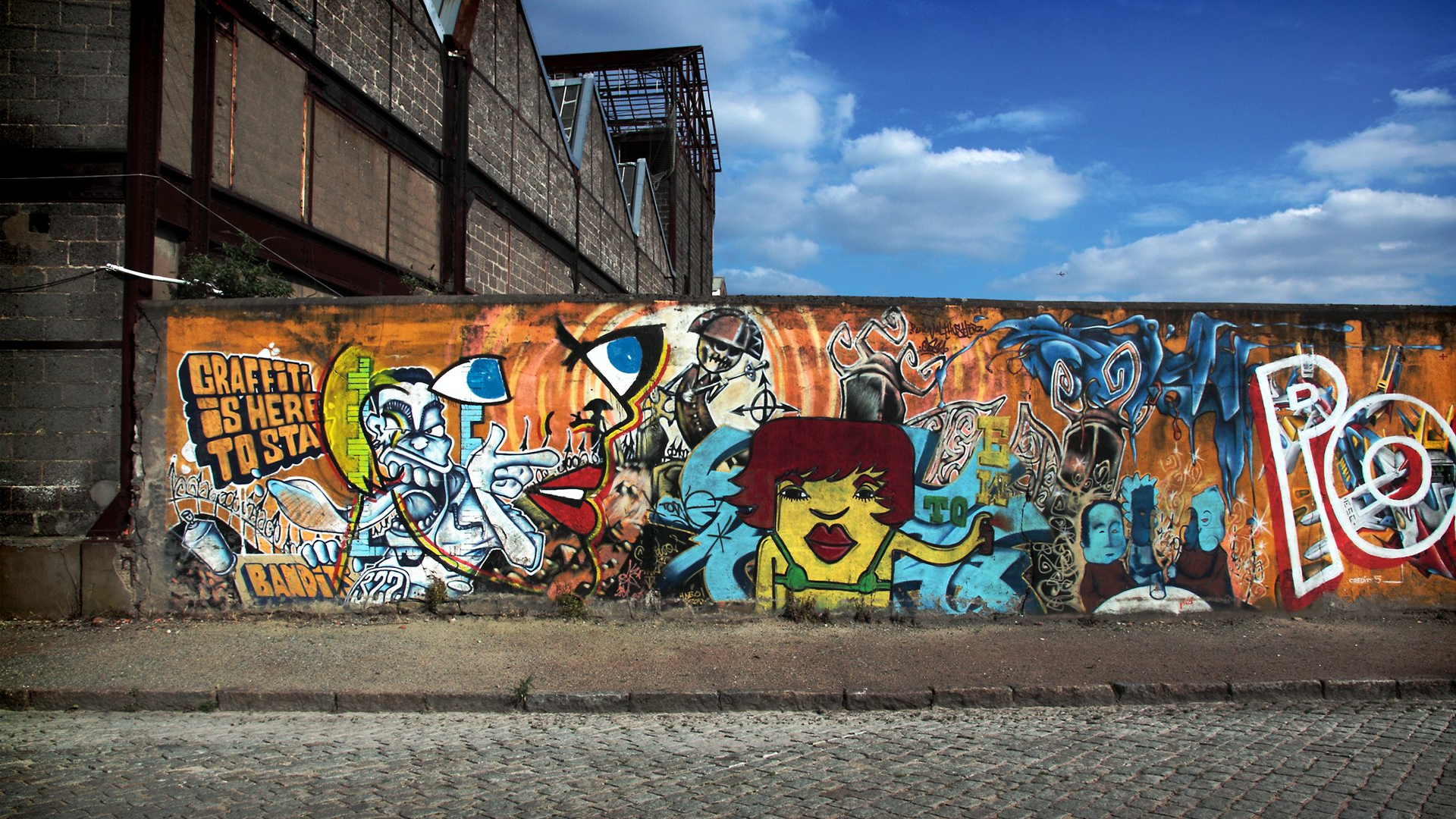 foto de Free download Theme Bin Blog Archive Graffiti is here to stay HD ...