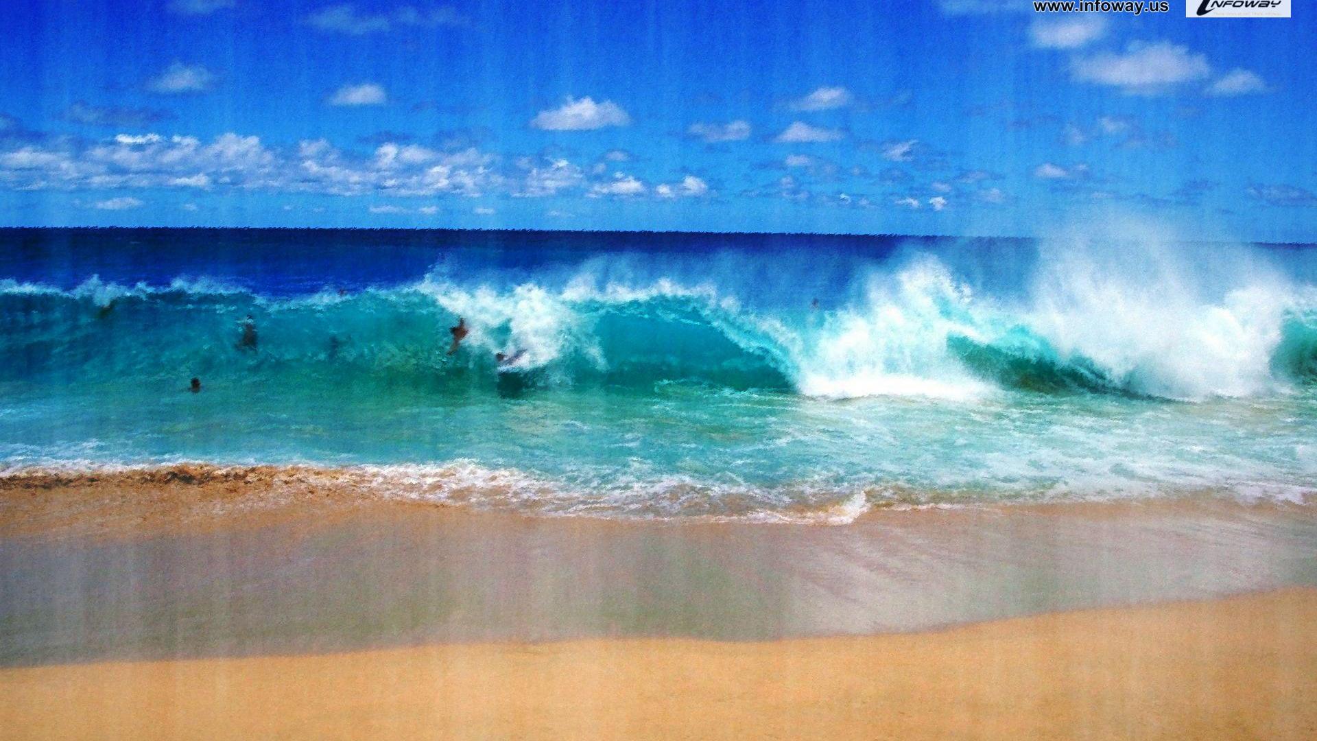 1920x1200px ocean scene wallpaper wallpapersafari