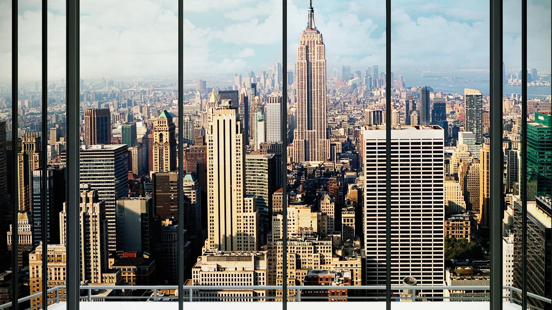 картинка мегаполис из окна пьедестал