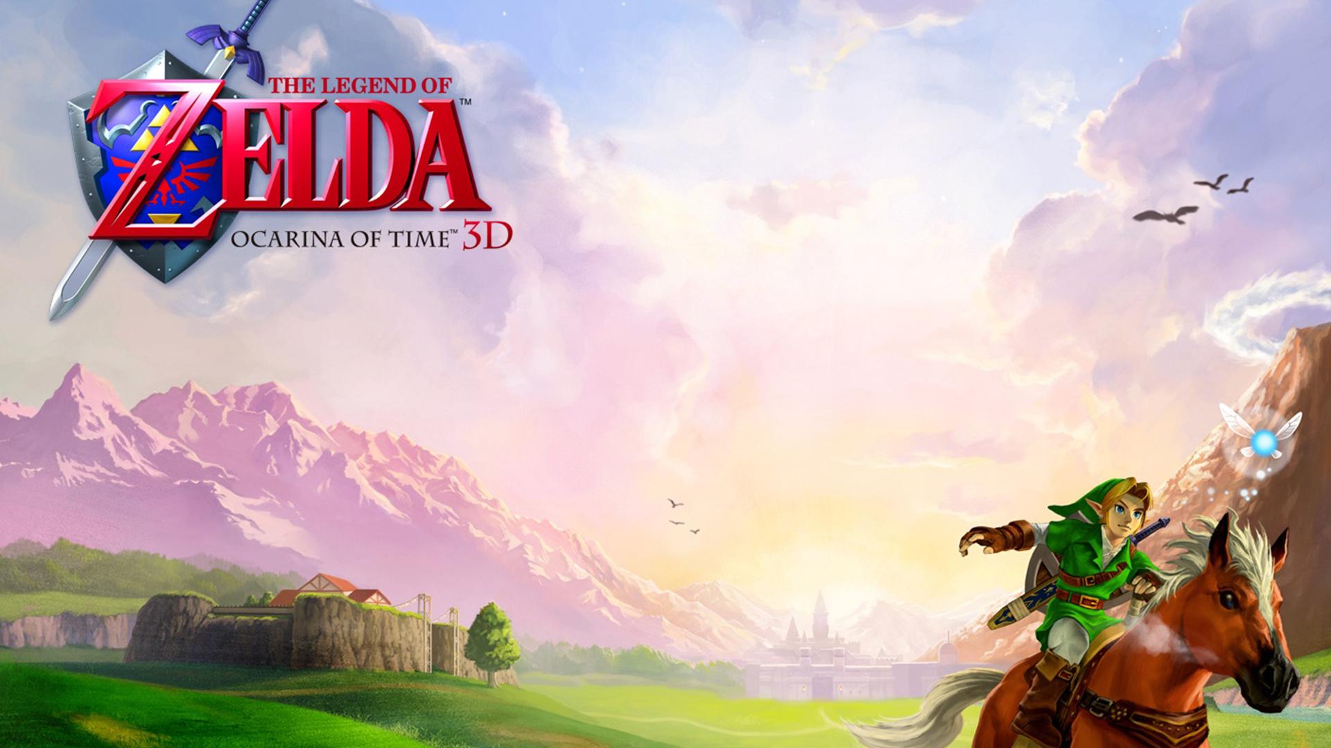 Free Download Legend Of Zelda Ocarina Of Time 3d Wallpaper 977745