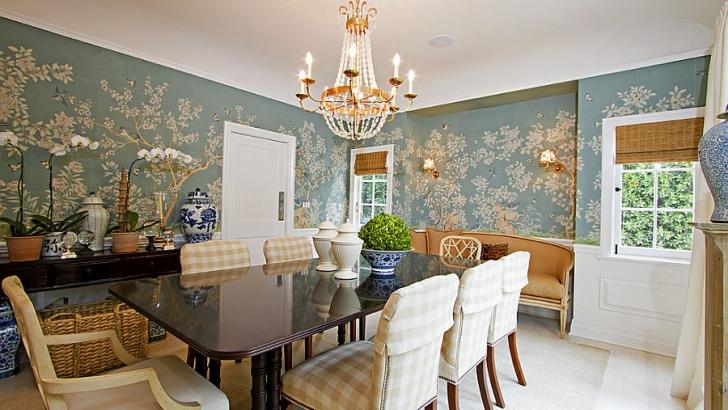 Wall Wallpaper Designs, Dining Room Wallcovering Ideas