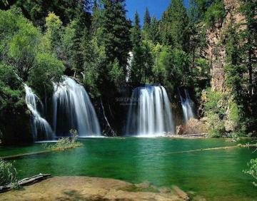 Waterfall Beauty Screensaver wallpaper Download Nature Waterfall