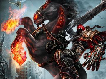 Darksiders Wrath of WarDarksiders 4 Horsemen Wallpaper