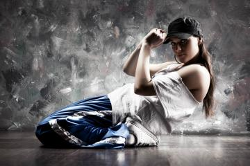 Hip Hop Dance Girl Wallpaper IPhone Wallpaper WallpaperLepi