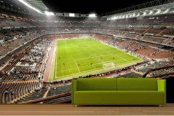 Football Stadium at Night Wallpaper