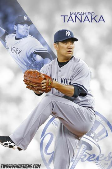 Masahiro Tanaka iPhone Wallpaper Two Seven Designs