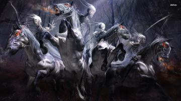 Four Horsemen Of The Apocalypse Wallpaper Darksiders Images Pictures