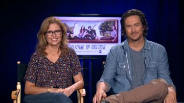 Jenna Fischer Oliver Hudson talk season 2 of Splitting Up