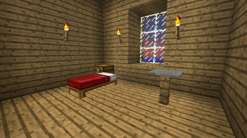 Minecraft Estate   Guest bedrooms by Aceaddo
