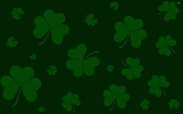 Clovers wallpaper   Holiday wallpapers   2158