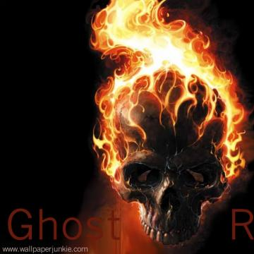 Ghost Rider Skull in Flames Ghost Rider Wallpaper Wallpapers