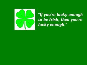 Lucky To Be Irish wallpaper   ForWallpapercom
