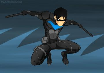 Nightwing YJ by shamserg