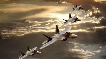 Lockheed Martin F22 Raptors HD wallpapers