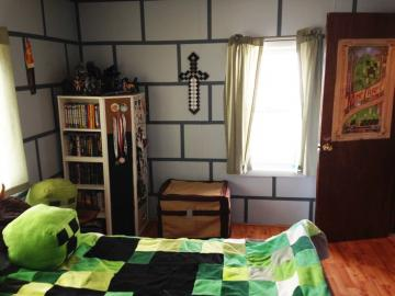 DIY Minecraft Bedroom Shadowbinders Boy Pinterest