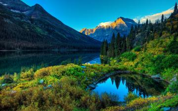 Lake Mountain Scenery Wallpapers HD Wallpapers