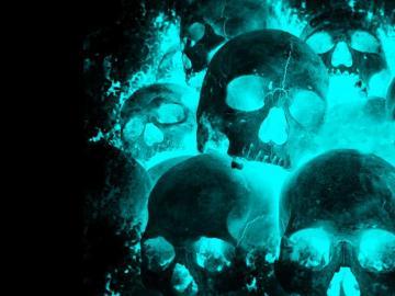 Wallpapers For Neon Skull Wallpaper