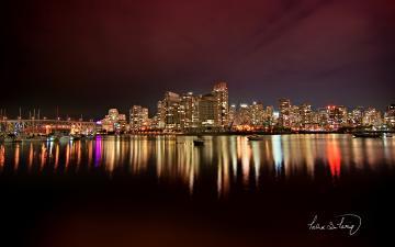 theme cityscape wallpaper light city skyline wallpapers windows