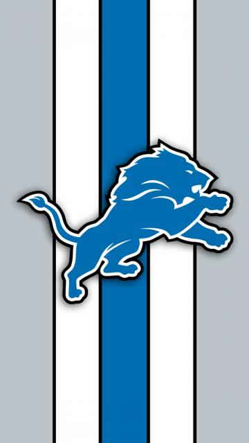 Detroit Lions Logo iPhone 5 Wallpaper 640x1136