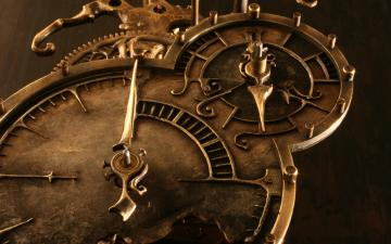 Steampunk mechanical clock watch bokeh e wallpaper 1680x1050 62180