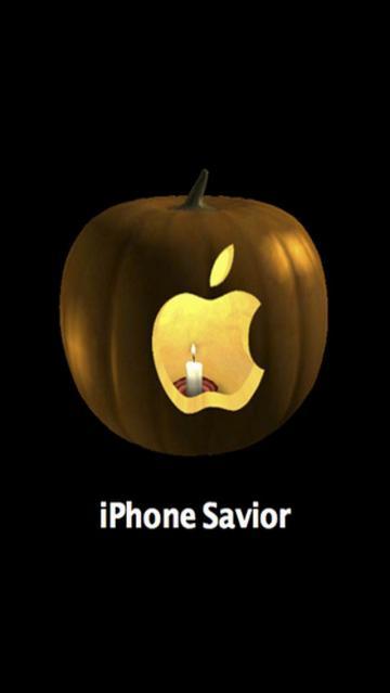 Download Halloween iPhone5 Wallpaper 640x1136  Pacman Halloween
