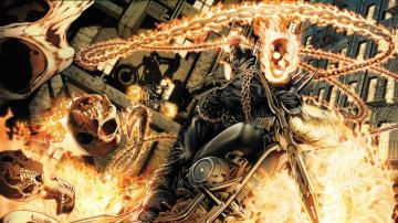 Superheroes Wallpaper Ghost Rider