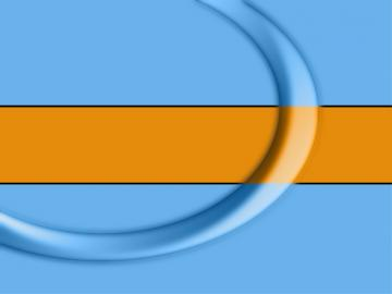 Blue Orange Loop by toolio